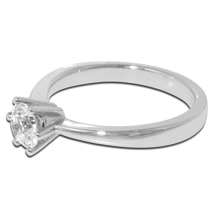Diamantring Frøya med 0,50 ct TW-Si - 3105050