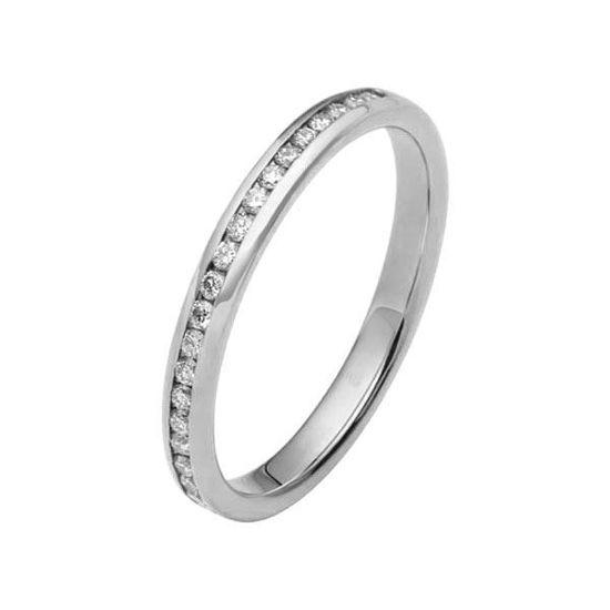 Flerstens diamantring med 0,22 ct W-Si i 9kt gull - 110204699