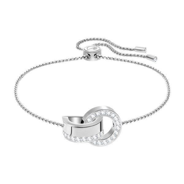 Swarovski armbånd Hollow, Rhodium plating - 5373969