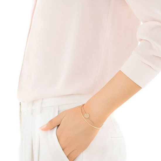 Swarovski armbånd Ginger, Rose Gold Plating - 5274892