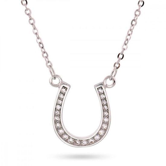 Smykke i sølv. Hestesko - 65020