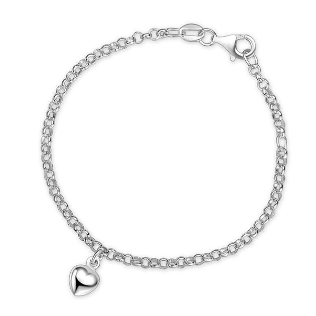 Armbånd i sølv. Hjerter - 60290
