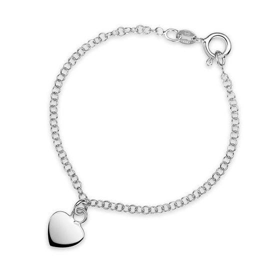 Armbånd i sølv. Hjerte - 62160