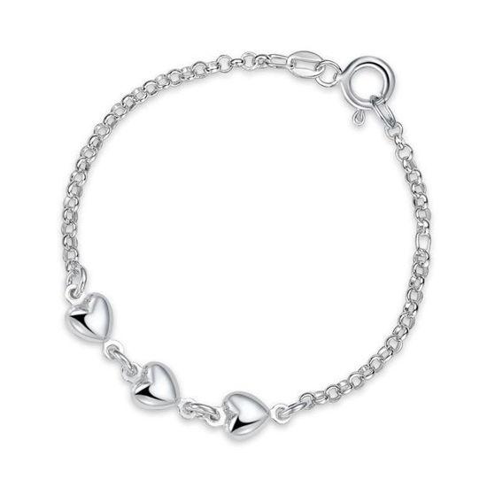 Armbånd i sølv. Hjerte - 62161