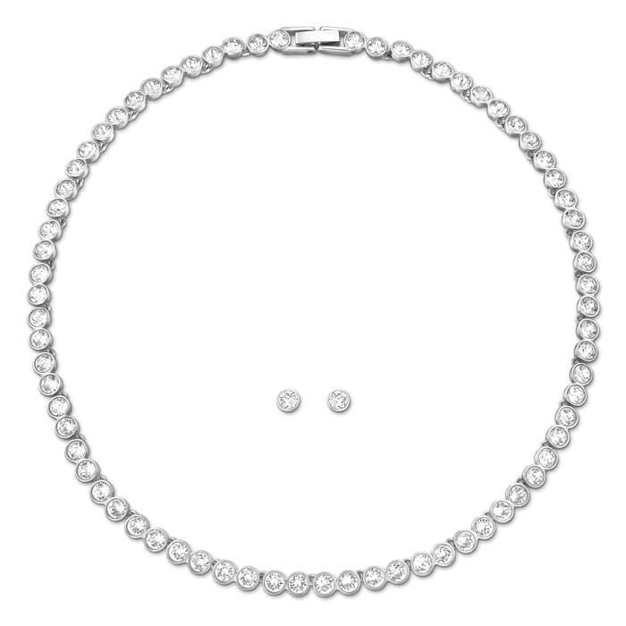 Swarovski smykkesett. Tennis - 5007747