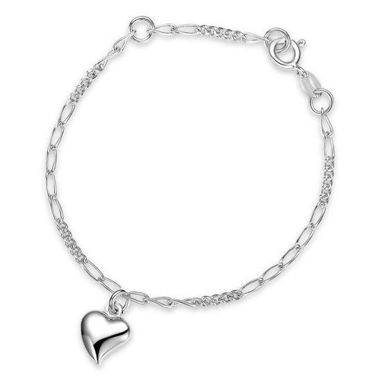 Armbånd i sølv. Hjerter - 62101