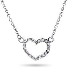 Smykke i sølv. Hjerter - 65000