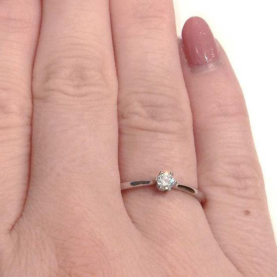 Enstens diamantring Ja! med 0,11 ct i 9kt gull. TW-Si. -5100013