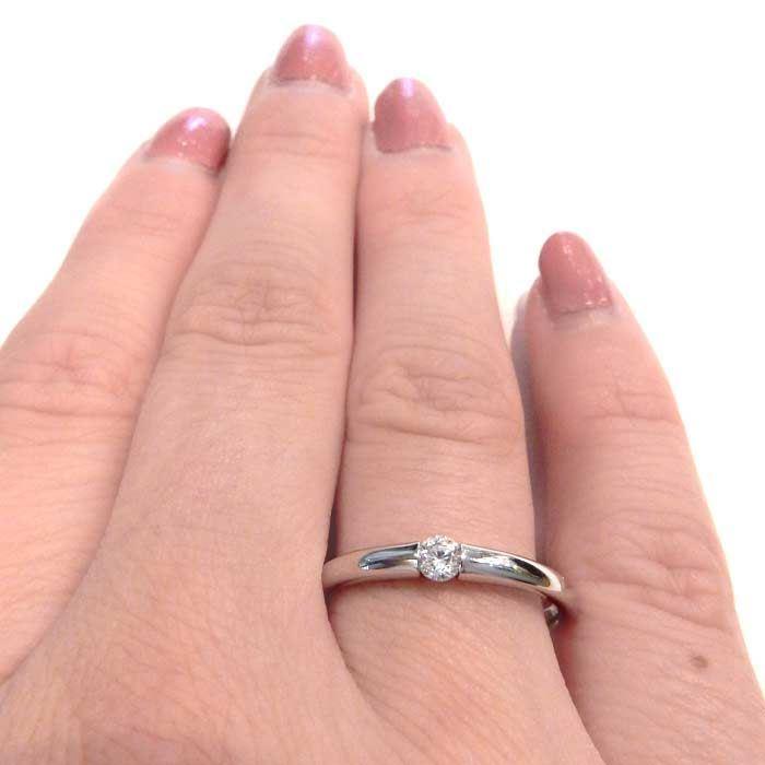Enstens diamantring Ja! med 0,11 ct i 9kt gull. TW-Si. -5100028