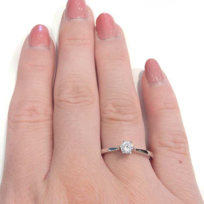 Enstens diamantring Ja! med 0,26 ct i 9kt gull. TW-Si. -5100016