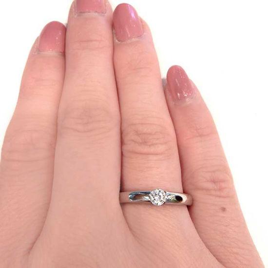 Enstens diamantring Ja! med 0,21 ct i 9kt gull. TW-Si. -5100030