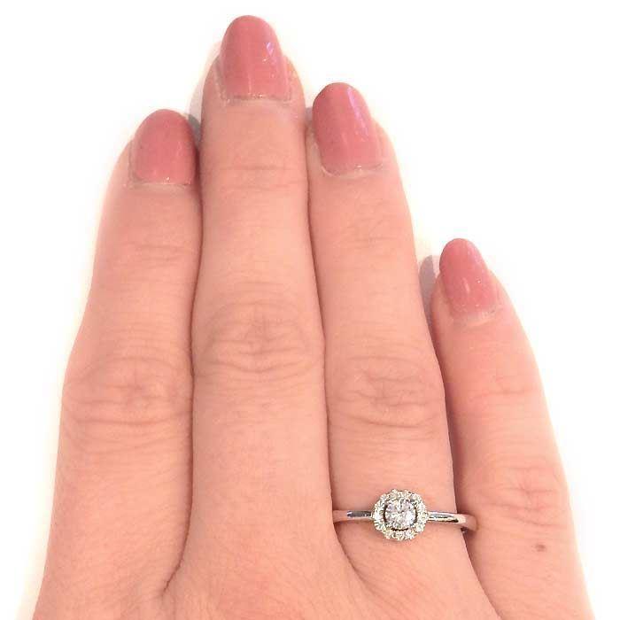 Flerstens diamantring Ja! med 0,23 ct TW-Si i 9kt gull -5100024