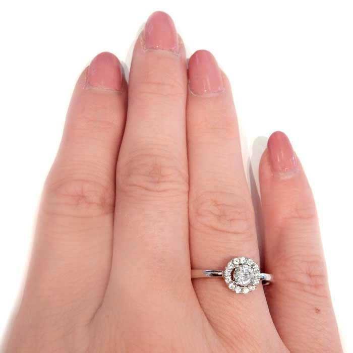 Flerstens diamantring Ja! med 0,35 ct TW-Si i 9kt gull -5100026