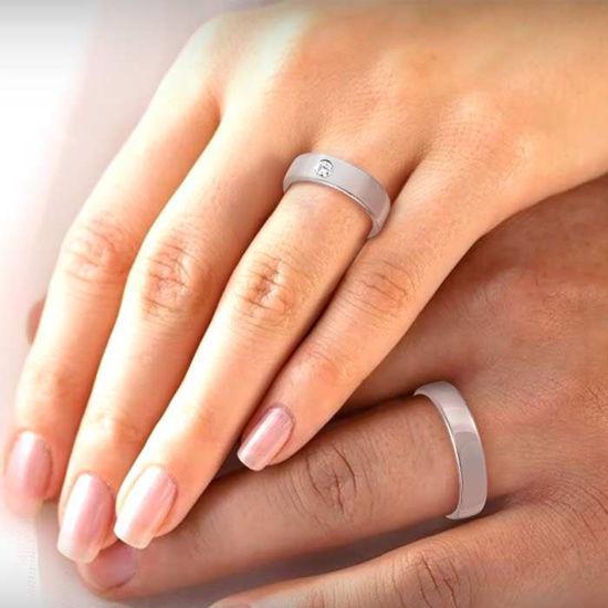 illustrasjon med hånd av gifteringer –113819