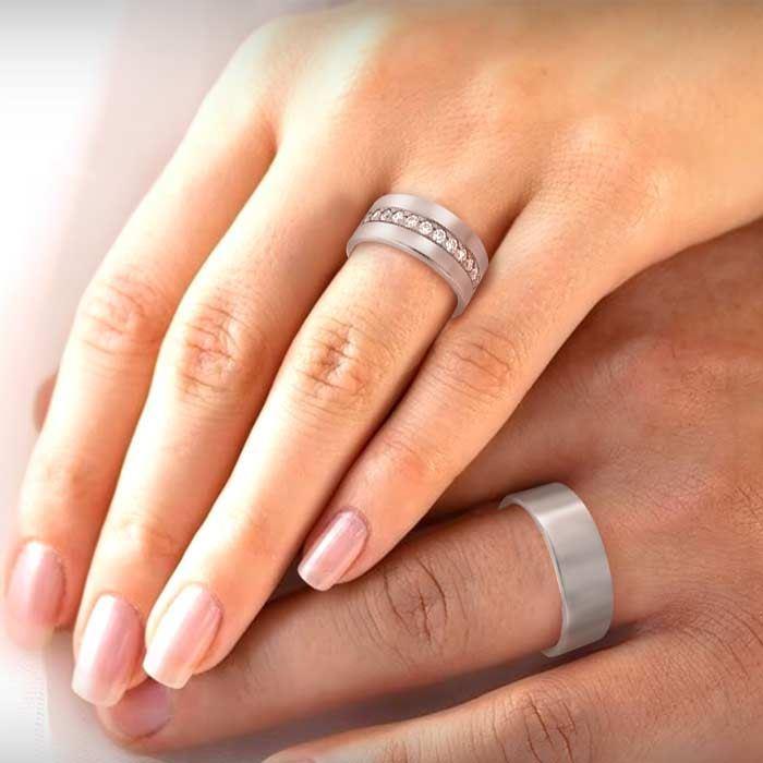 illustrasjon med hånd av gifteringer –NT1370-1070