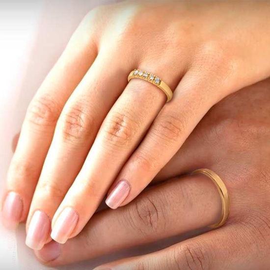illustrasjon med hånd av gifteringer –115300-85050500