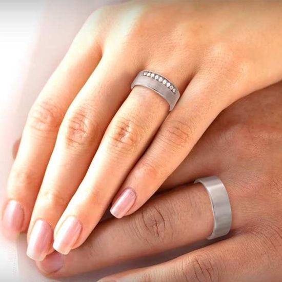 illustrasjon med hånd av gifteringer –NT1860-1160