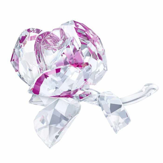Swarovski figurer. Blossoming Rose - 5248878