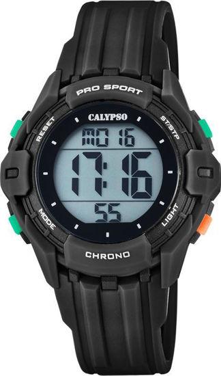 Calypso klokke. Digital, sort - K5740-6
