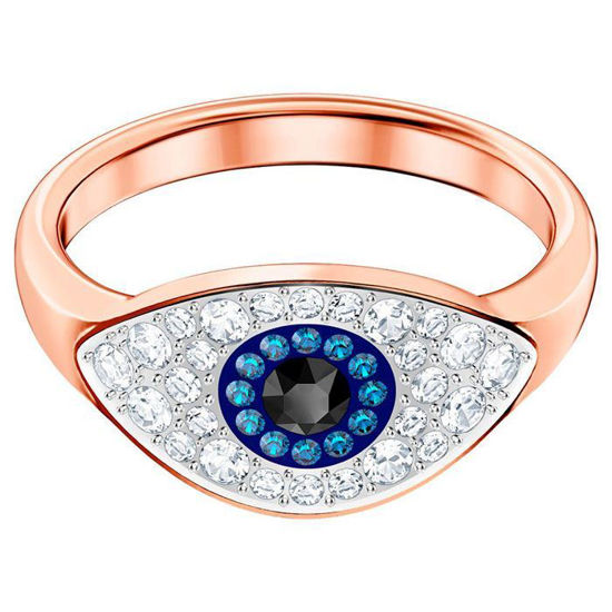 Swarovski ring. Duo Evil Eye - 5441193