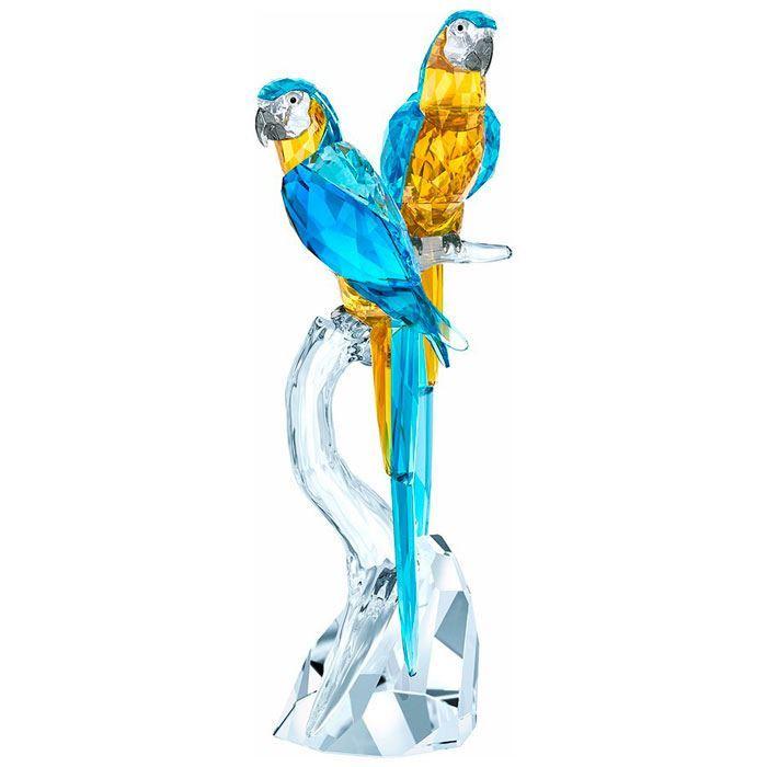 Swarovski figurer. Macaws - 5301566