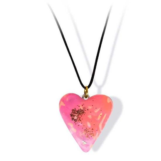 Håndlaget smykke, hjerte -2802040