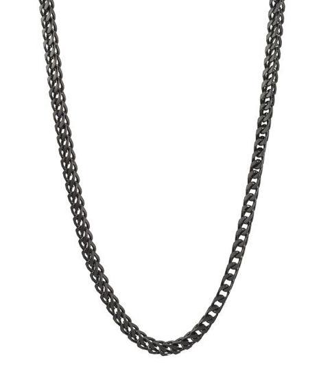 Herrekjede IGGY i stål 60cm/6cm - 520616