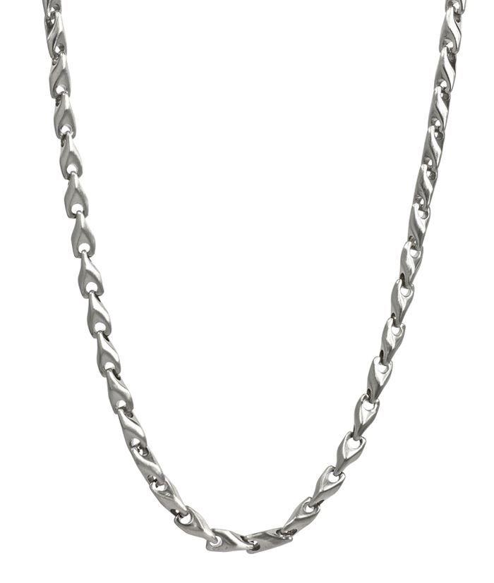 Herrekjede MADOX i stål 56cm/6cm - 520626
