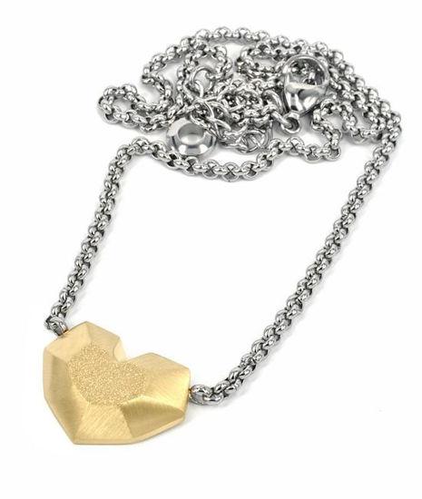 Smykke i forgylt stål DAISY - 10582818