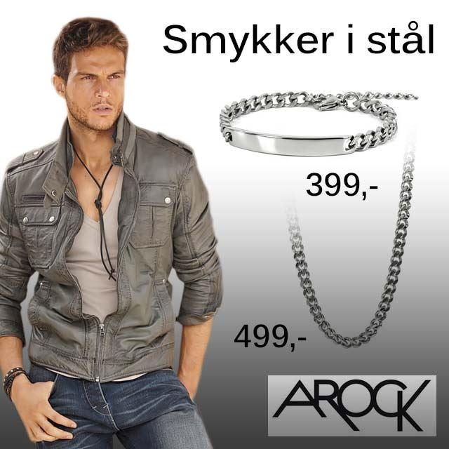 AROCK  herre smykker
