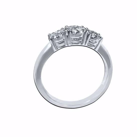 Diamantring med 0,42 ct W-Si 3 - 50009721855