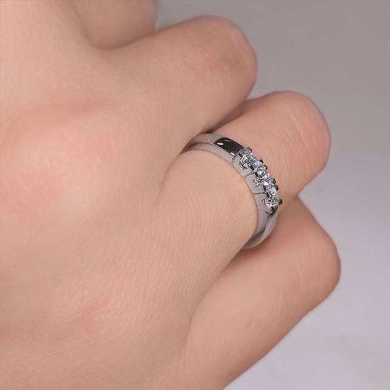 Diamantring Iselin med 3x0,10 ct TW-Si-8503010
