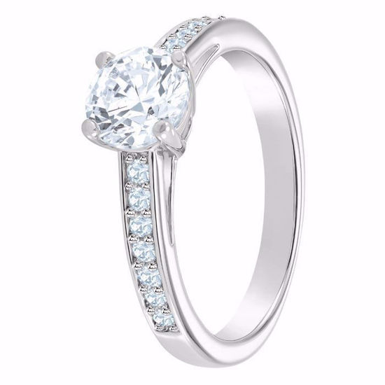 Swarovski ring Attract Round - 5032920