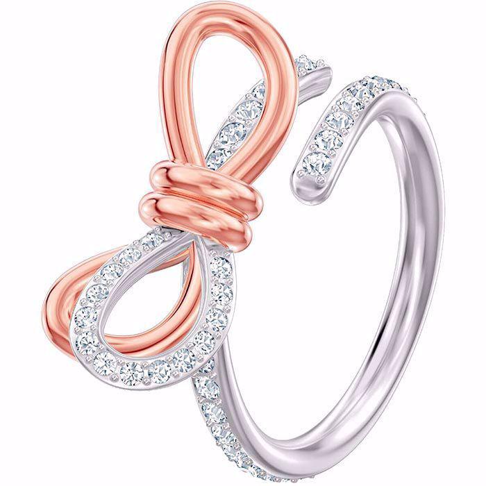 Swarovski ring Lifelong Bow Medium - 5440641