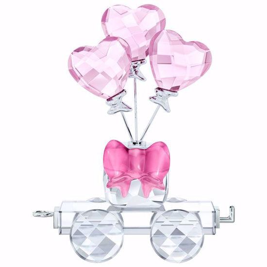 Swarovski figurer. Heart Balloons Wagon - 5428615