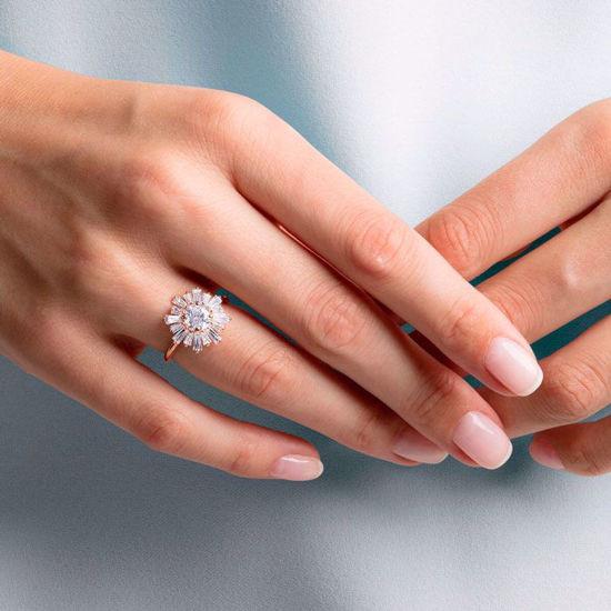 Swarovski ring. Sunshine - 5459599