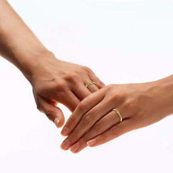illustrasjon med hånd av gifteringer -122540