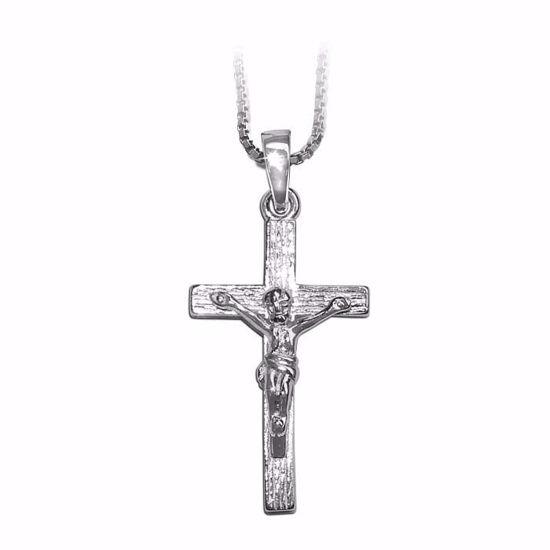 Kors i sølv med Jesus -790151