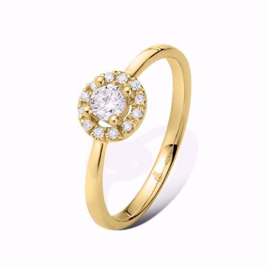 Diamantring Ja! med 0,30 ct TW-Si i 14kt gull -51000250