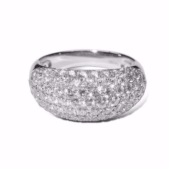 Diamantring i hvitt gull med 1,96 ct W-Si - COC9632900