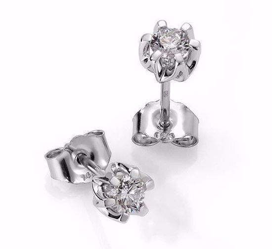 Sitara diamant øredobber med  2/0,36 ct W-Si-422136