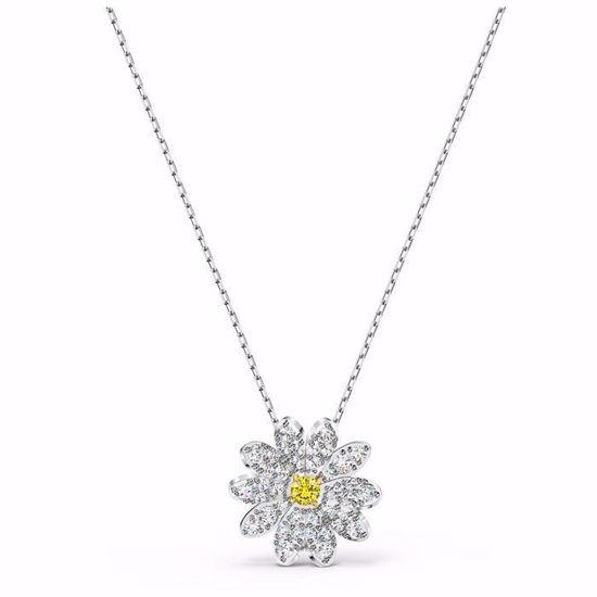 Swarovski smykke Eternal Flower Pendant, Yellow, Mixed metal finish  - 5512662