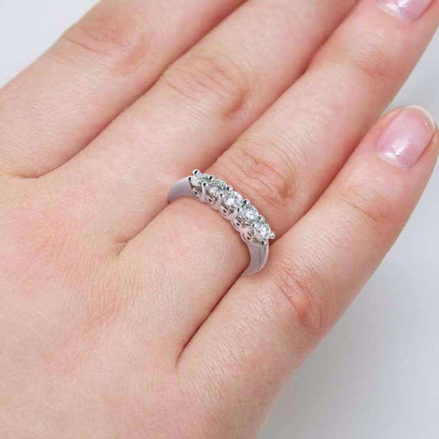 Diamantring Azur  0,50 ct W-Si - AR01140