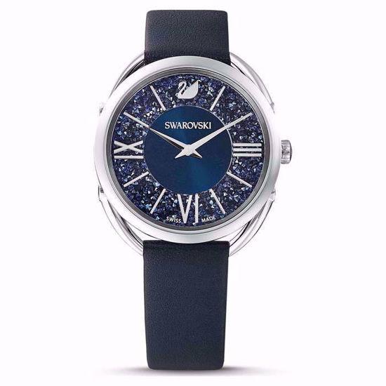 Swarovski klokke Crystalline Glam, blå - 5537961
