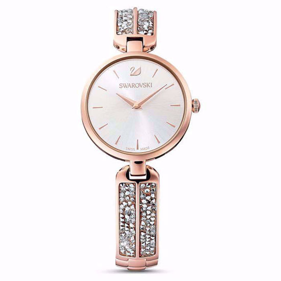 Swarovski klokke Dream Rock, rose - 5519306