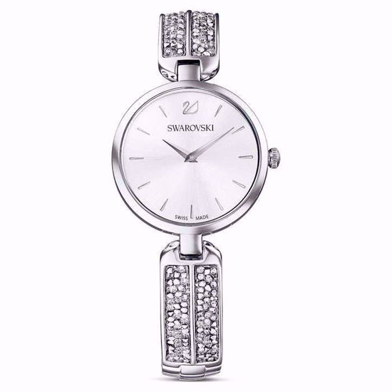 Swarovski klokke Dream Rock, hvitt - 5519309