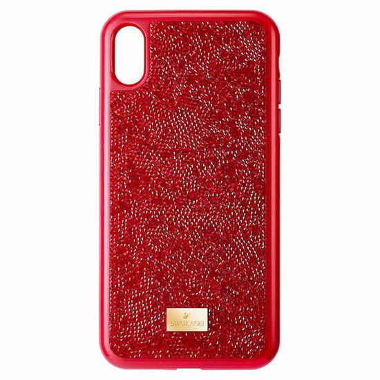 Swarovski Iphone XS Max deksel Glam Rock, red - 5481454