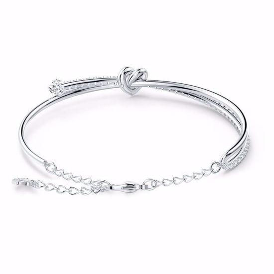 Swarovski armband Lifelong Heart, hvitt - 5517944