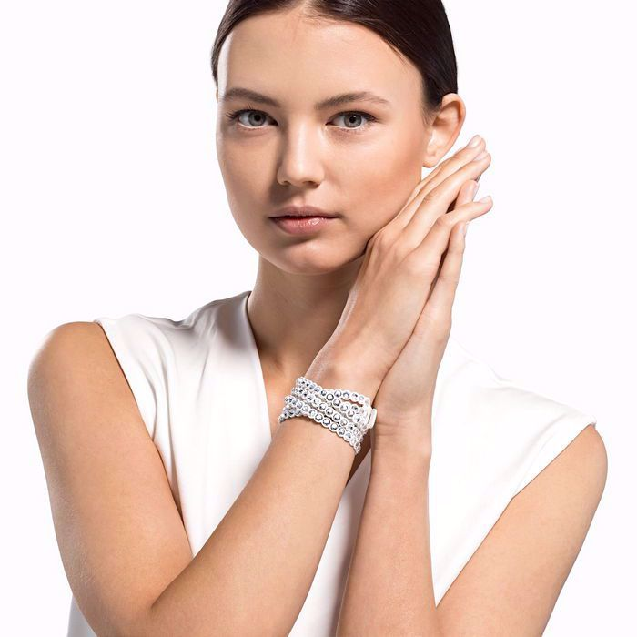 Swarovski armband Power Collection, hvitt - 5518697