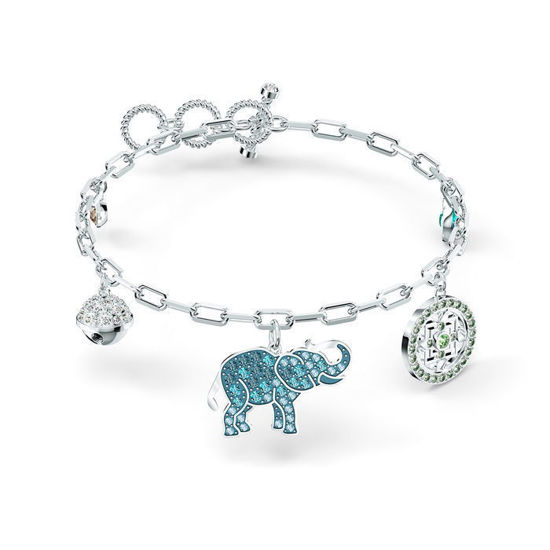 Swarovski armband Symbolic med elefant
